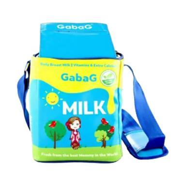 Gabag Cooler Bag Tas Penyimpan ASI - Mijka Blue