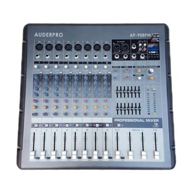 AUDERPRO AP-908PM USB Power Mixer - Dark Grey
