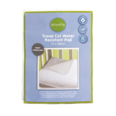 Playette Travel Cot Water Resistant Pad - Terry Towelling