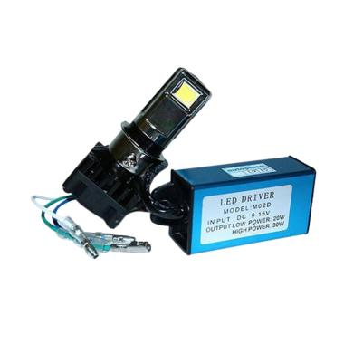 RTD LED 3 Sisi AC-DC Lampu Motor