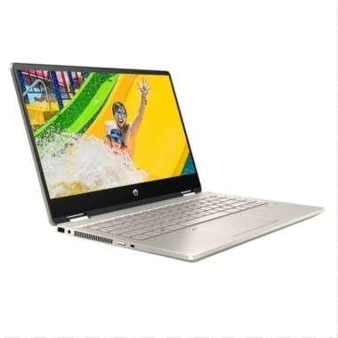 harga HP Pavilion X360 14 dh1052TX DH1053TX 2in1 Touch i5 10210 8GB 512ssd W10+OHS 14.0FHD gold Blibli.com