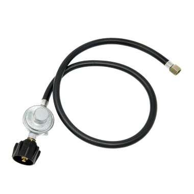 harga Propane Regulator Gas Hose Tank Low Pressure BBQ Grill Burner Heater 0.6m Black Blibli.com