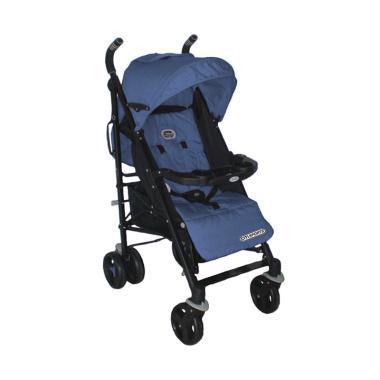Chloe Baby Casual Baby Stroller 103 Kereta Dorong Bayi - Denim Blue