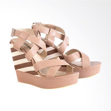 Azzura 660-01 Sandal Wedges Wanita