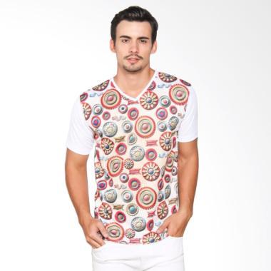 EpicMomo Pattern3 T-Shirt - White AD.00145
