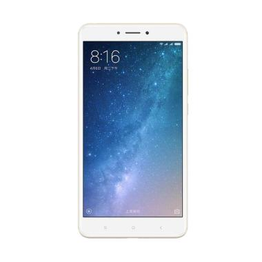 Xiaomi MI Max 2 Smartphone - Gold [64GB/ 4GB] + Free Tongsis Cable