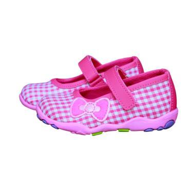 Kipper Type Kayla Sepatu Anak Perempuan - Merah Muda