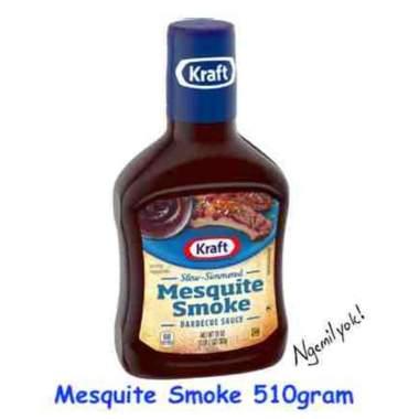 harga Kraft BBQ Sauce Mesquite Smoke 510gram Blibli.com