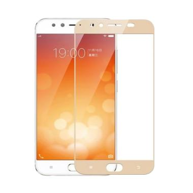 VR Tempered Glass Full Gold Anti Go ... or Vivo V5 Plus/X9 - Gold
