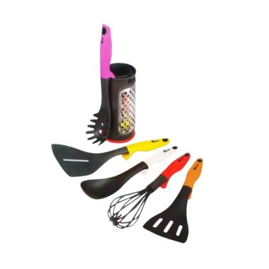 Oxone OX-956 Rainbow Kitchen Tools  ... la Sutil Masak dari Nylon