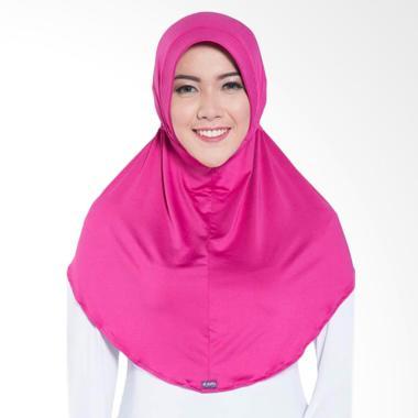 Elzatta Zaria Sahara Hijab - Pink Fanta 133