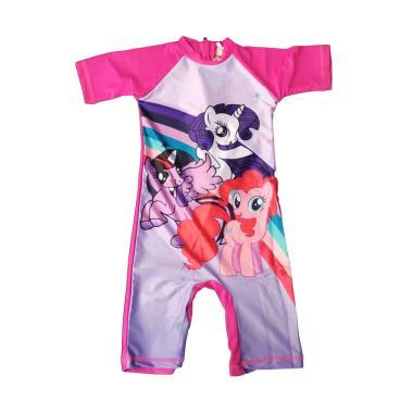 Lycra Little Pony Baju Renang Anak Perempuan