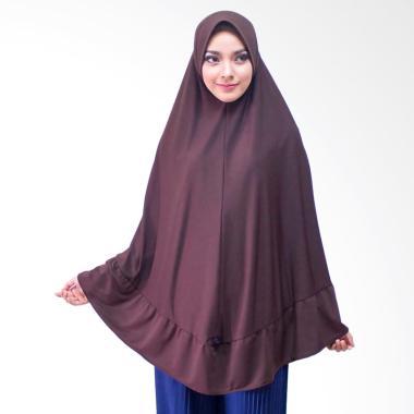 Milyarda Hijab Hijab instan khimar ihrom COKLAT