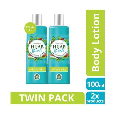 Hijab Fresh Healthy & Bright Hand & Body Lotion [100 mL/ Twinpack]
