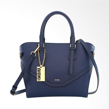 Bonia Dreamy Satchel Bags Wanita - Dark Blue
