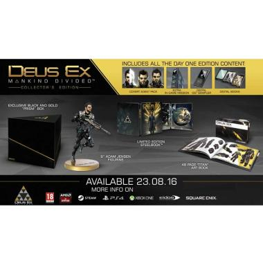 SONY PS4 Deus Ex Mankind Divided Collector's Edition. Rp 1.581.000 · Microsoft Xbox One ...