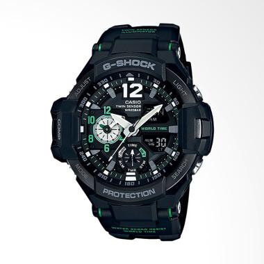 CASIO G-Shock Gravitymaster Jam Tangan Pria - Black GA-1100-1A3DR