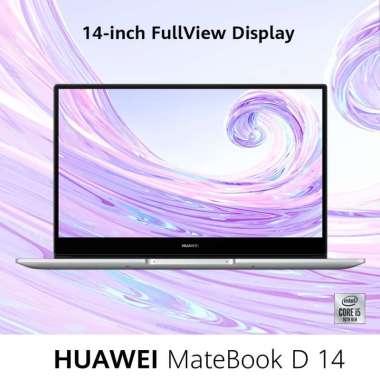 Huawei MateBook D14 Laptop [Intel i5/8GB/512GB/14-Inch FullView Display] Space Grey