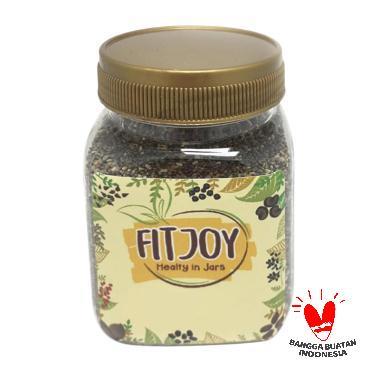 FitJoy Super Food Black Chia Seed Makanan Organik [100 g]
