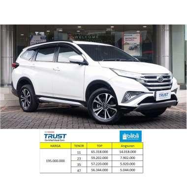 Daihatsu Terios 1.5 R 2018 Mobil Bekas [Paket TDP] 35 - White A/T JADETABEK