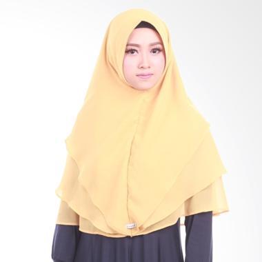 Atteena Hijab Khimar Radya Non Pet Jilbab Instant - Gold