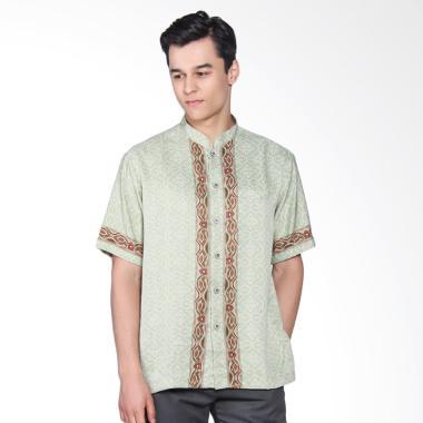 Batik Arjunaweda Men Koko Batik Sen ... ian Pria - Hijau 60122047