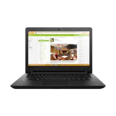 Lenovo Ideapad 110-8GID Laptop - Bl ...  ASURANSI + PACKING KAYU)