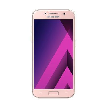 Samsung Galaxy A3 2017 SM-A320 Smartphone - Pink Rose [16 GB/2 GB]