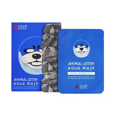 SNP Animal Otter Masker Wajah [10 Sachet]