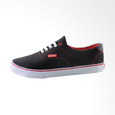 Ardiles Men Maldives Sneakers Shoes - Black Red