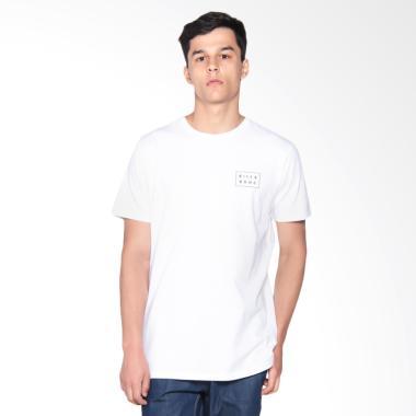 Billabong Open Die Cut Tee T-Shirt Pria - White [9571009  WHI00S]