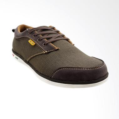 CDE Maverick Sepatu Sneaker Coklat Tua