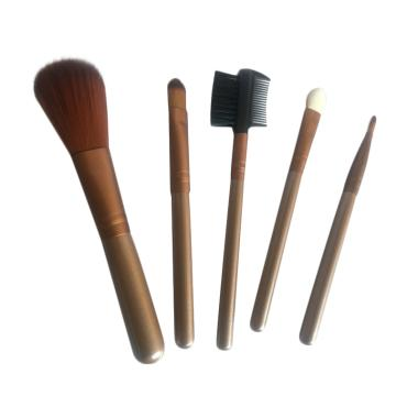 Orange's Make Up Brush Set Kuas Make Up [5 in 1]