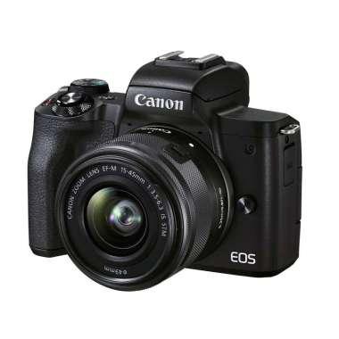 Canon EOS M50 Mark II Kit 15-45mm GARANSI RESMI