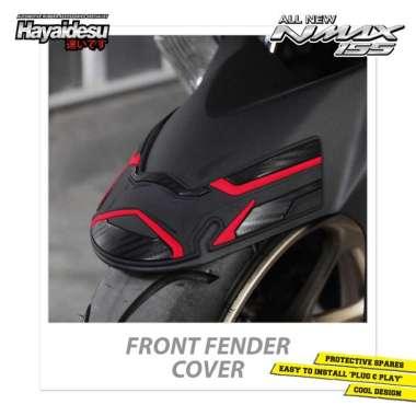 harga Hayaidesu All New NMAX Front Fender Cover Variasi Spakbor Depan Body Protector Aksesoris Motor merah Blibli.com