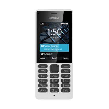 Nokia 150 Handphone - White [Dual SIM/Kamera]