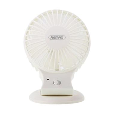 Remax F18 Original Rechargeable Mini Fan - White