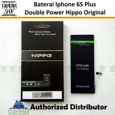 harga Baterai Hippo Double Power Original Apple Iphone 6S Plus 6S+ Batre Batrai Dual Handphone HP Hipo Ori Blibli.com