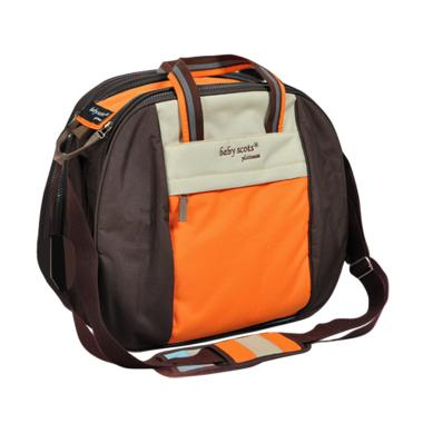 Baby Scots Platinum Mommy Bag 004 Tas Bayi - Orange