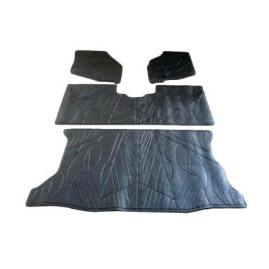Bintang Makmur Set Karpet Lantai Mobil for Honda Jazz [4 Lembar]