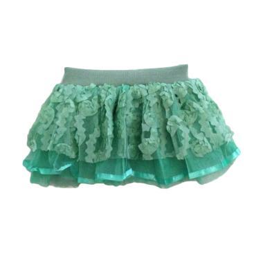 B2W2 Kids Wear Tutu Lace Pendek Rok Anak Perempuan - Green