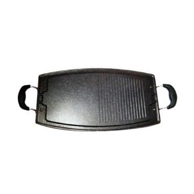 GCC Grill Pan Multi Oval Wajan Panggangan - Black