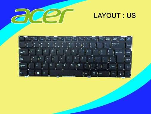 harga Acer Keyboard For Acer One 14 Z1401 Z1402 Z1401-N2940 Z1401-C283 Z1401-C5PX Series Hitam KBAC1401GD20001 Hitam Blibli.com