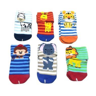 Happy Baby Safari Box Kaos Kaki Bayi [6-12 bulan]
