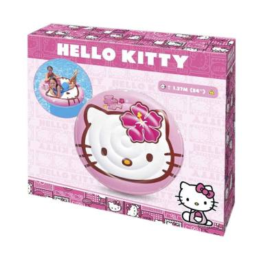 Intex 56513 Hello Kitty Kids Island Matras Pelampung Renang Anak