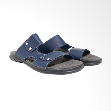 Dr.Kevin Leather Sandals Men - Blue 17212