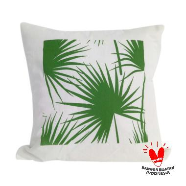 Stiletto In Style Palm Leaf Cushion Cover
