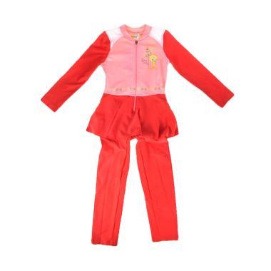 Opelon 07.4032.000.16.RD Terusan Baju Renang Anak - Merah