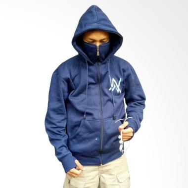 e933584c8 YM Ninja Logo Turkish Jaket Alan Walker - Navy