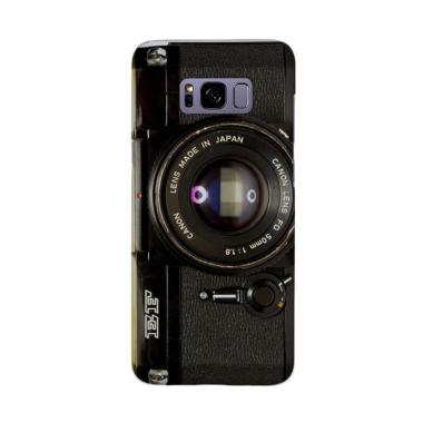 Indocustomcase Camera Canon EF Cover Casing for Samsung Galaxy S8